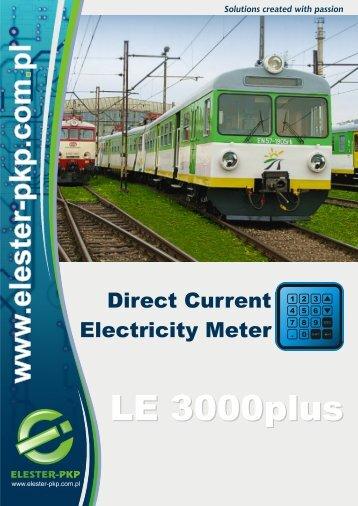EL 3000plus_całość wersja 3_A4_ANG.cdr - Elester PKP