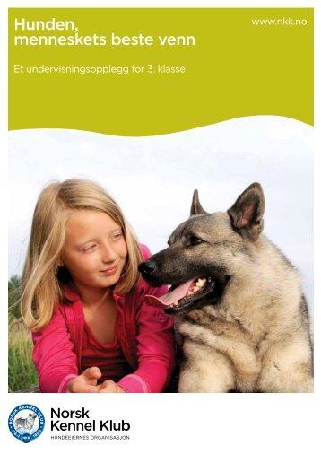 Hunden, menneskets beste venn - Norsk Kennel Klub