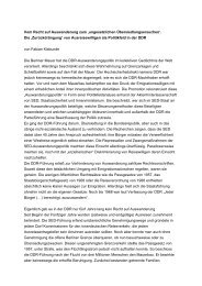 Zum Thema [20 KB] - Bundesstiftung zur Aufarbeitung der SED ...