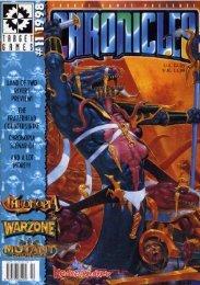 Chronicles #11 1998 - Mutant Chronicles Virtualpedia