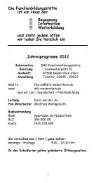 Kursprogramm (PDF-Datei, ca. 226 KB) - DRK Kreisverband ...