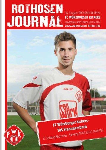 Download der Zeitung - Würzburger Kickers
