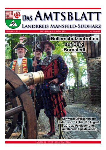 Ausgabe Juli 2012 - Landkreis Mansfeld-Südharz
