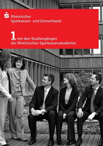 Studiengang Sparkassenfachwirt - RSGV