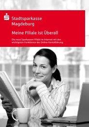 Stadtsparkasse Magdeburg Meine Filiale ist Überall Die neue ...