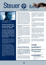 Unternehmensin- solvenzrecht: Was ist neu ab 2010 - Pirklbauer