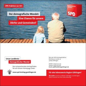 Einladung zur Podiumsdiskussion - SPD-Ortsverein Adelebsen