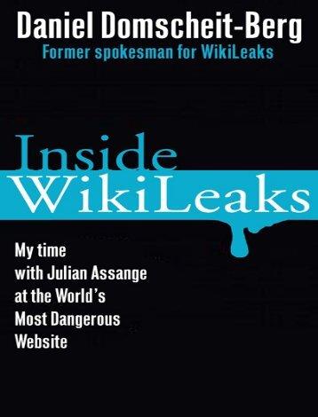 Inside WikiLeaks - echo des montagnes