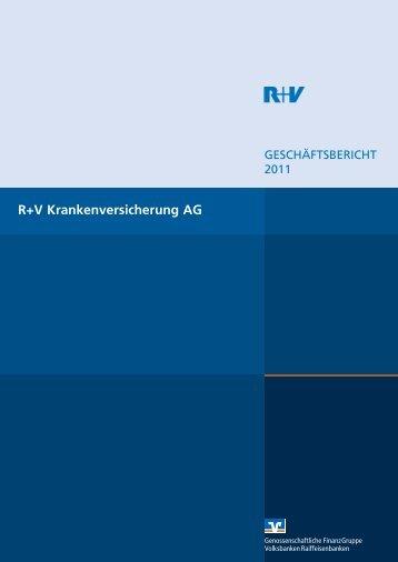 Geschäftsbericht R+V Krankenversicherung AG 2011 (PDF 631