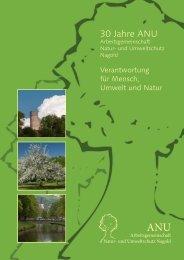 Festschrift - Arbeitsgemeinschaft Natur- und Umweltschutz Nagold