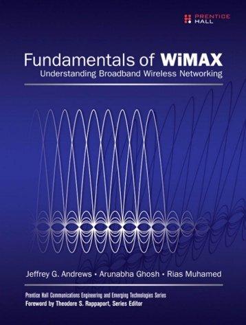 Fundamentals of WiMAX - Understanding Broadband ... - Read