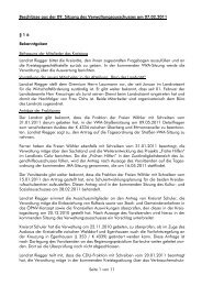Protokoll - Landkreis Calw