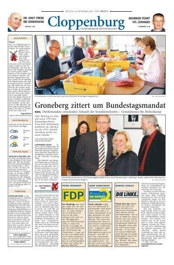 bundestagswahl 2009 - Stadt Löningen