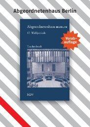 Gewählte Bewerber Abgeordnetenhaus Berlin - kuerschner.info