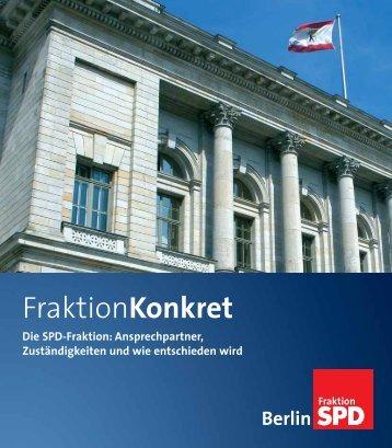 FraktionKonkret - SPD-Fraktion im Abgeordnetenhaus von Berlin