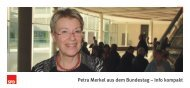 Petra Merkel aus dem Bundestag – Info kompakt