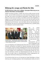 seniorentag 2006 - IG BCE - MITTELRHEIN
