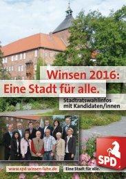 Unser Programm 2011 - 2016 (Kurzfassung) - SPD Winsen, Luhe