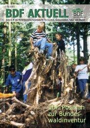 Ausgabe 06/2005 - Bund Deutscher Forstleute (BDF)