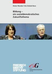Bildung - ein sozialdemokratisches Zukunftsthema - Bibliothek der ...