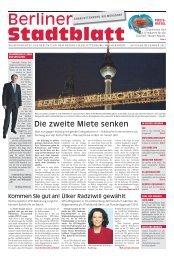 Die zweite Miete senken - SPD Neu-Westend