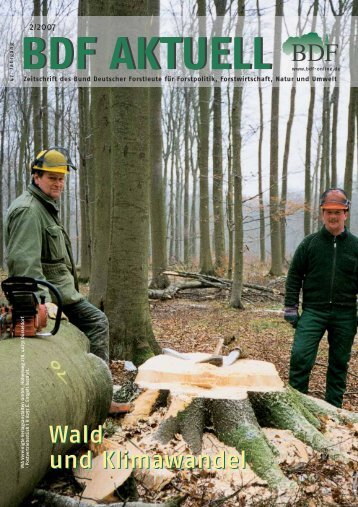 Wald und Klimawandel Wald und Klimawandel - Bund Deutscher ...