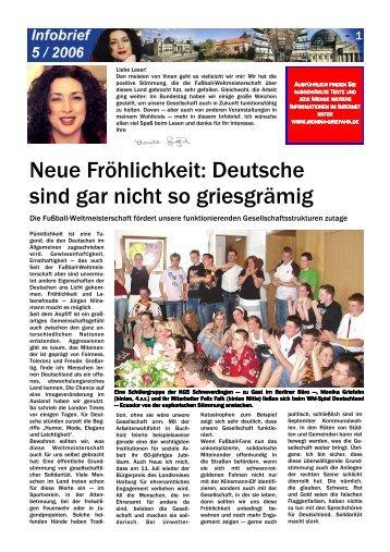 Infobrief 5/2006 - Griefahn, Monika