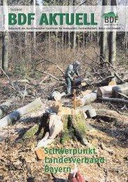 Ausgabe 10/2006 - Bund Deutscher Forstleute (BDF)