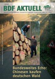 Chinesen kaufen deutschen Wald - Bund Deutscher Forstleute (BDF)