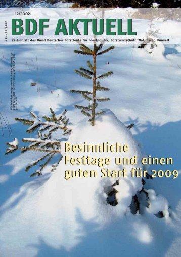 BDF 12 08 - Bund Deutscher Forstleute (BDF)