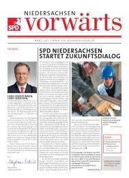 SPD NIEDERSACHSEN STARTET ZUKUNFTSDIALOG