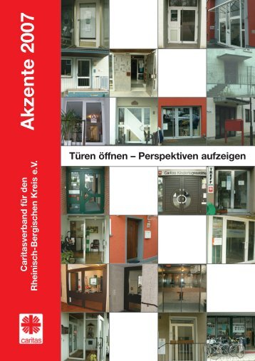 Akzente 2007 - Diözesan-Caritasverband für das Erzbistum Köln ...
