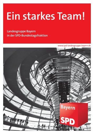 Broschüre - SPD-Landesgruppe Bayern