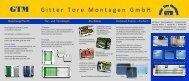 GTM Gitter Tore Montagen GmbH