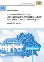 Statistische Berichte - Bayerisches Landesamt für Statistik und ...