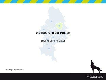 Wolfsburg in der Region - Strukturen und Daten