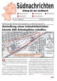 Südnachrichten - SPD-Braunschweig Süd-Ost Mascherode | Rautheim