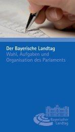 und Wahlkreise in Bayern zur Landtagswahl am 28. September 2008