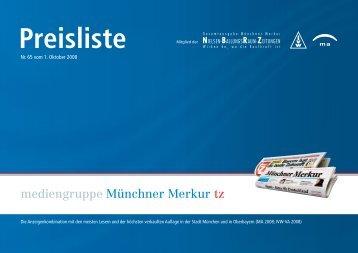 Preisliste - Die-Zeitungen.de