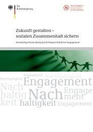 Zukunft gestalten - sozialen Zusammenhalt sichern (PDF, 2 - BMELV