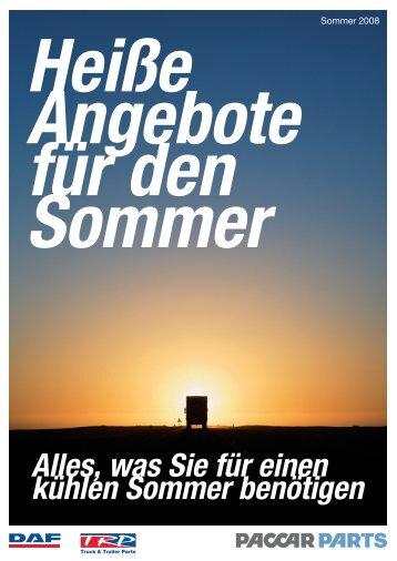 Heiße Angebote für den Sommer - SPEIER FAHRZEUGTECHNIK