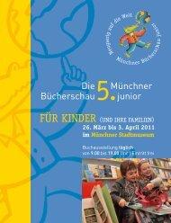 Die Bücherschau Münchner junior - Kultur & Spielraum eV