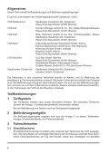 VOS Tarifbestimmungen und Beförderungsbedingungen - Seite 5