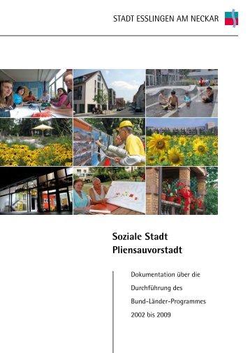 Soziale Stadt Pliensauvorstadt.pdf - Esslingen