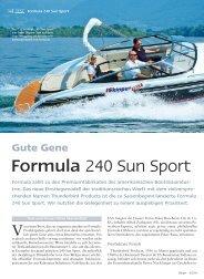 Formula 240 Sun Sport