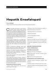 Hepatik Ensefalopati - Güncel Gastroenteroloji