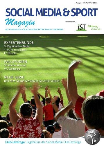 social media & sport - ESB-online - Europäische Sponsoring-Börse