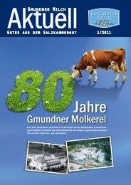 Mit dem Kauf regionaler Qualitäts- produkte ... - Gmundner Milch