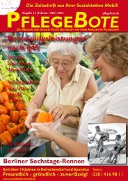 PflegeBote #12 (Februar / März 2012 – PDF-Datei) - Sozialstation ...