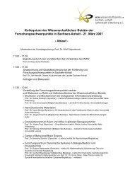 Ablauf - WZW Wissenschaftszentrum Sachsen-Anhalt Lutherstadt ...
